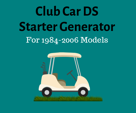 Club Car Golf Cart Starter Generator Wiring Diagram
