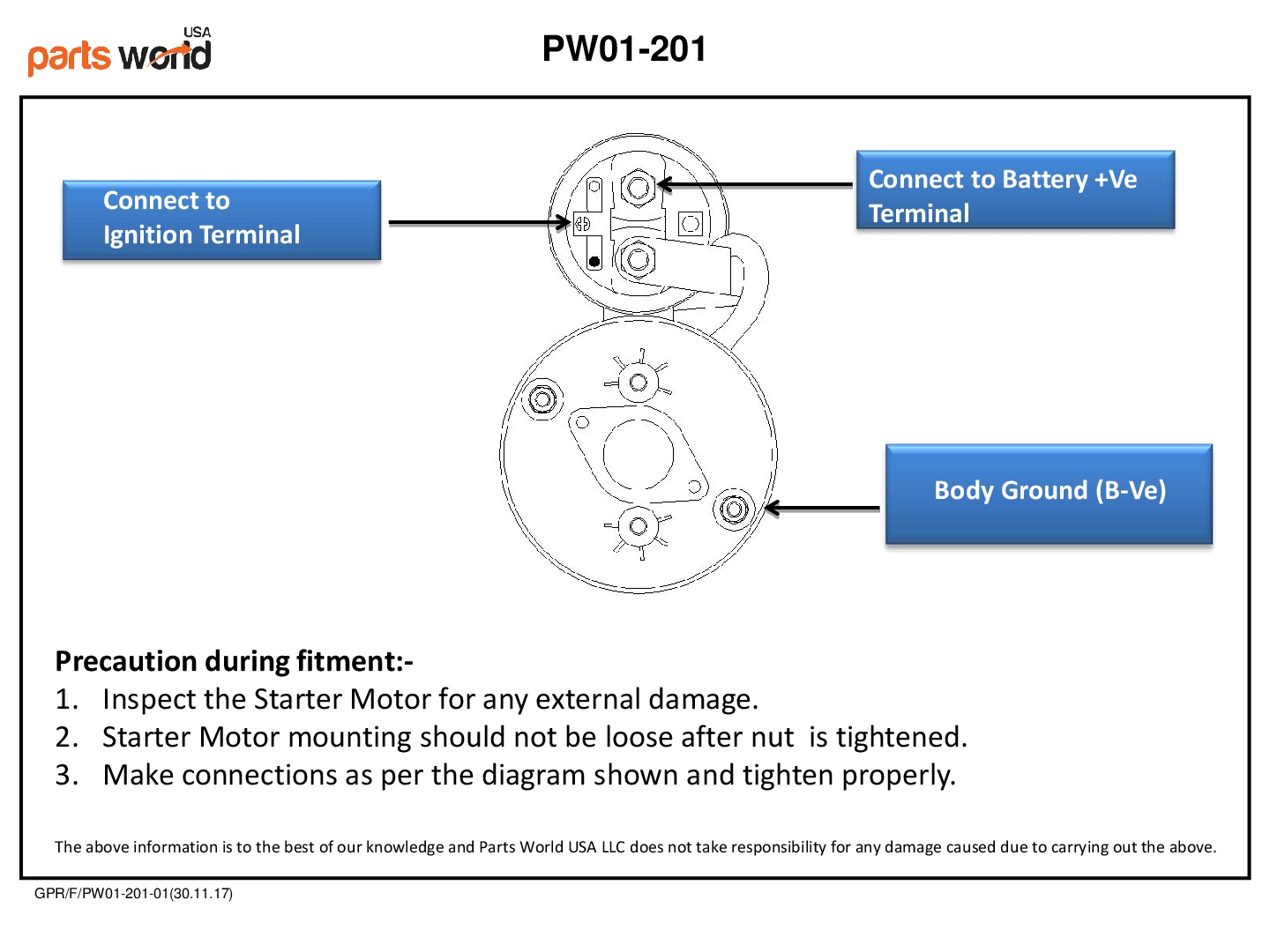 parts world usa online auto parts in usa, buy starter motorselectrical diagram of starter motor for john deere tractor